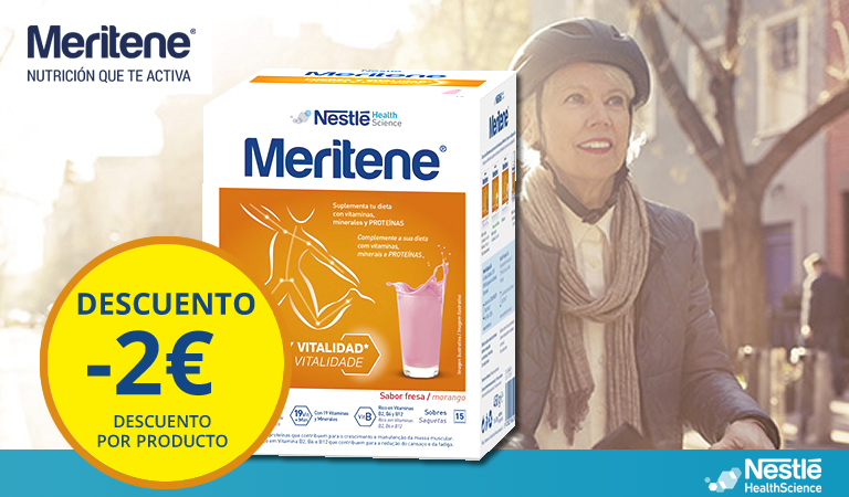 Meritene Fresa (2€ dto) hasta agotar existencias